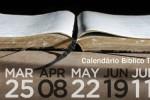 calendario biblico