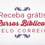 Receba Cursos Bíblicos pelo Correio*