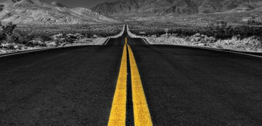 long_desert_road_black_and_white-wallpaper-1440x900